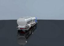 B train fusion 406 pour transport produits pétroliers